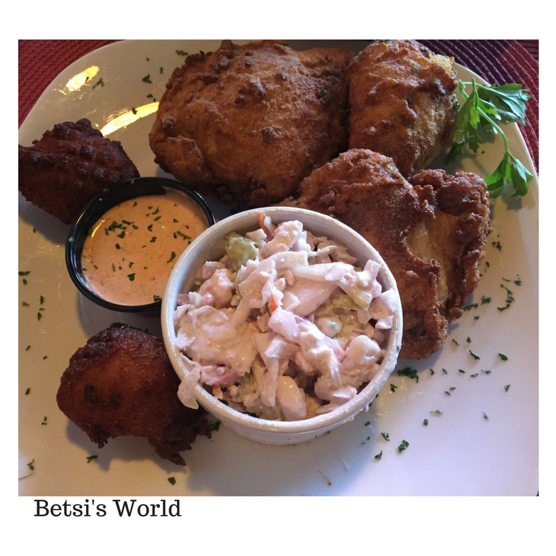 Cajun Fried Chicken  Cajun Cove Restaurant Vero Beach Florida Betsi s World