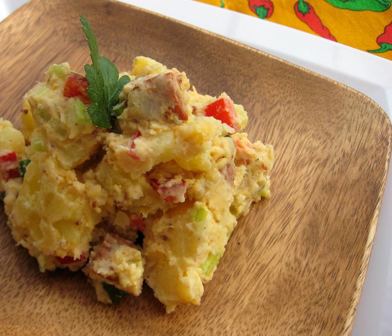Cajun Potato Salad  minxeats recipes recaps and restaurant reviews Spicy