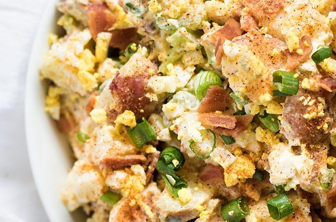 Cajun Potato Salad  Creamy Cajun Potato Salad The Salty Marshmallow