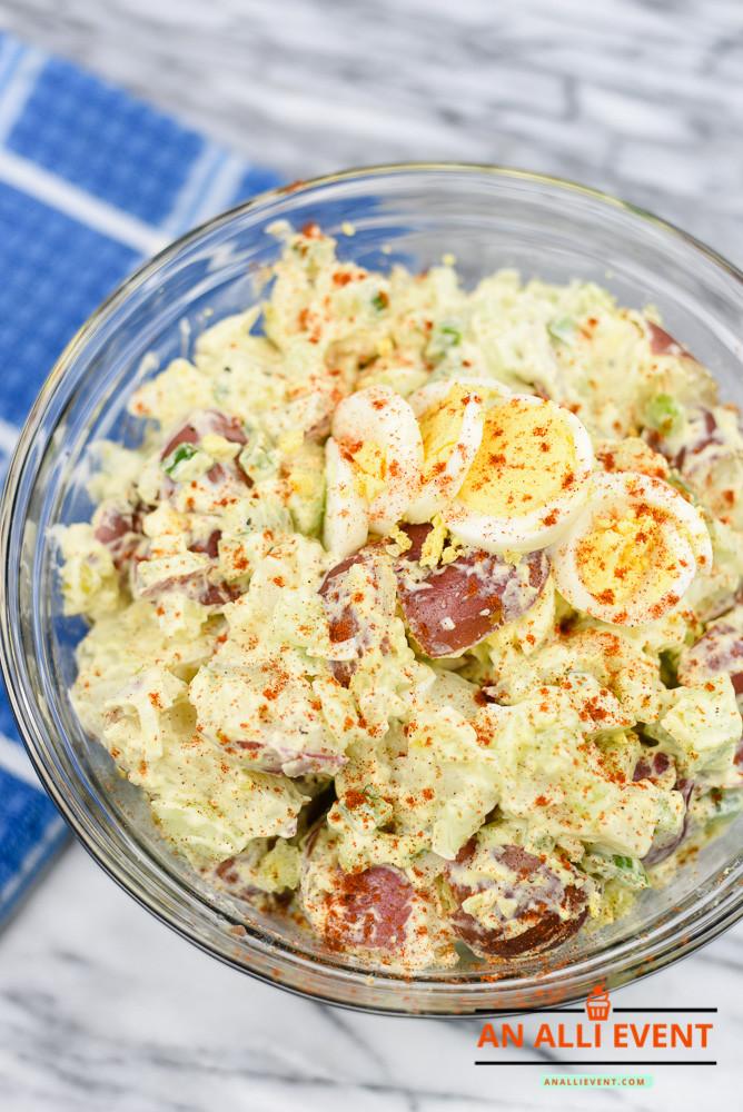 Cajun Potato Salad  Delicious Cajun Potato Salad with Homemade Dressing An