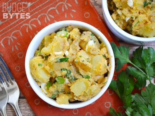 Cajun Potato Salad  Cajun Potato Salad Bud Bytes