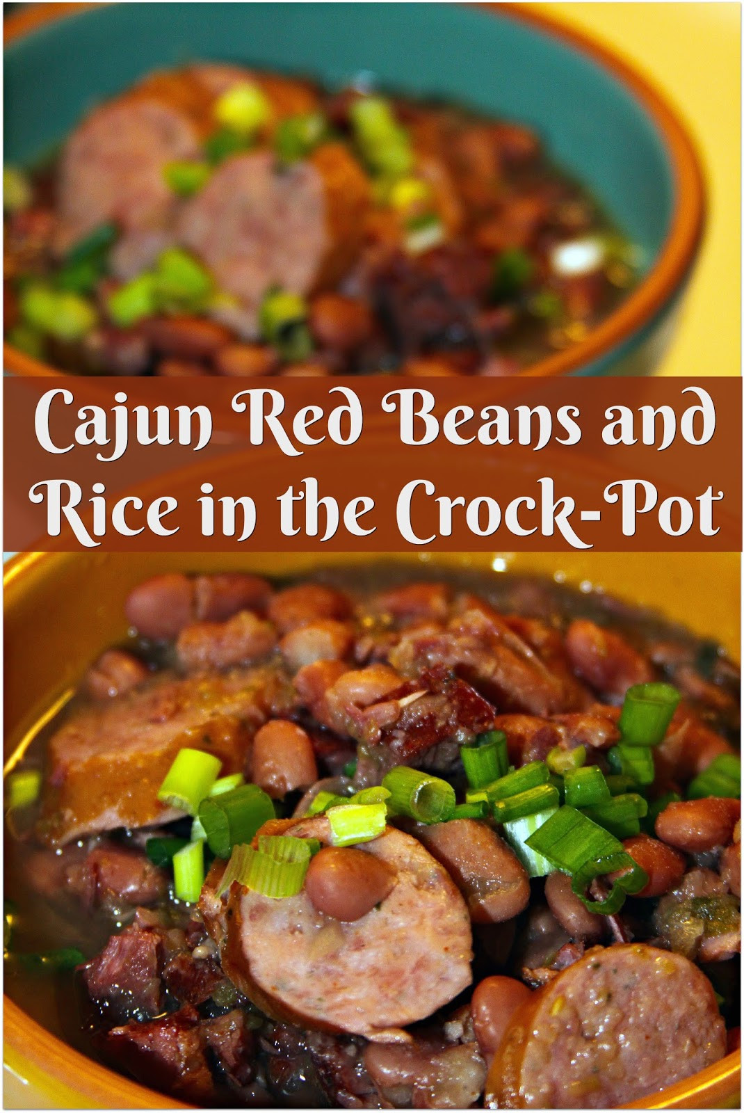 Cajun Red Beans And Rice  For the Love of Food Cajun Red Beans and Rice in the
