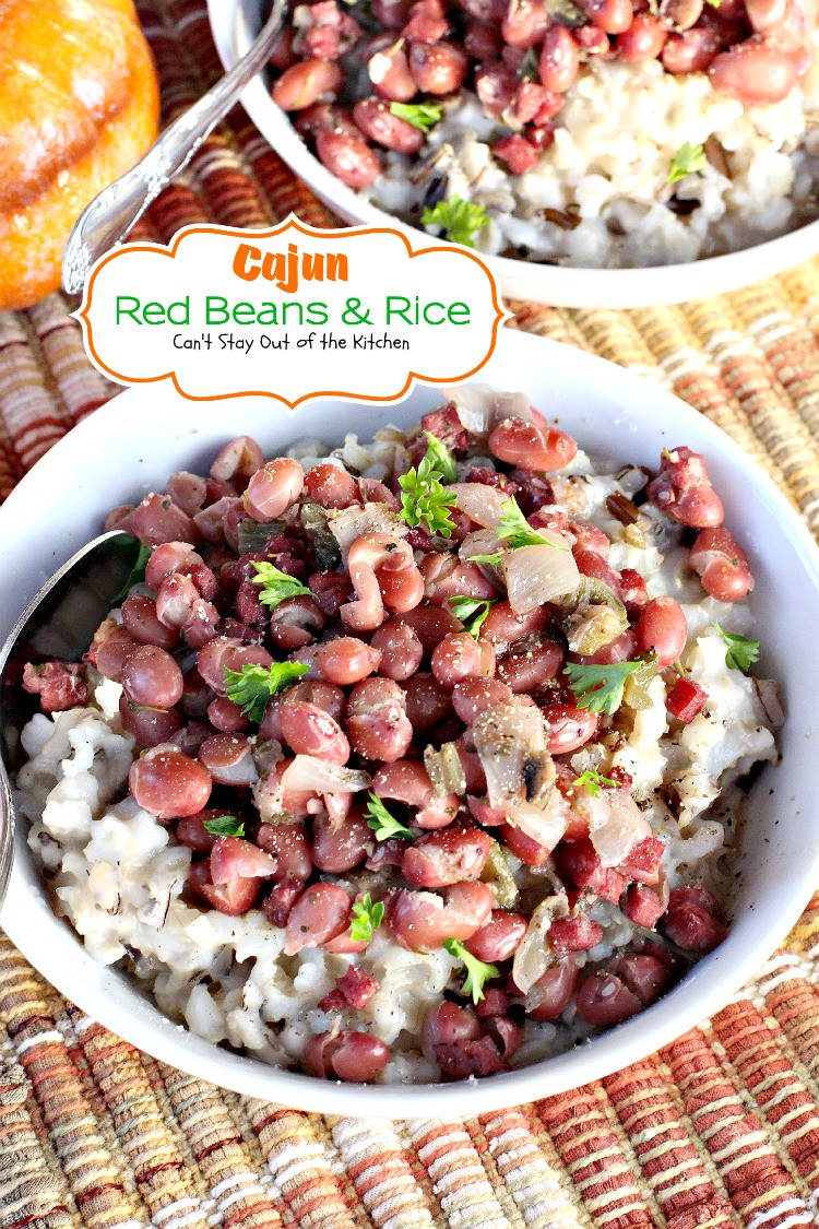 Cajun Red Beans And Rice  Cajun Red Beans And Rice Recipe — Dishmaps
