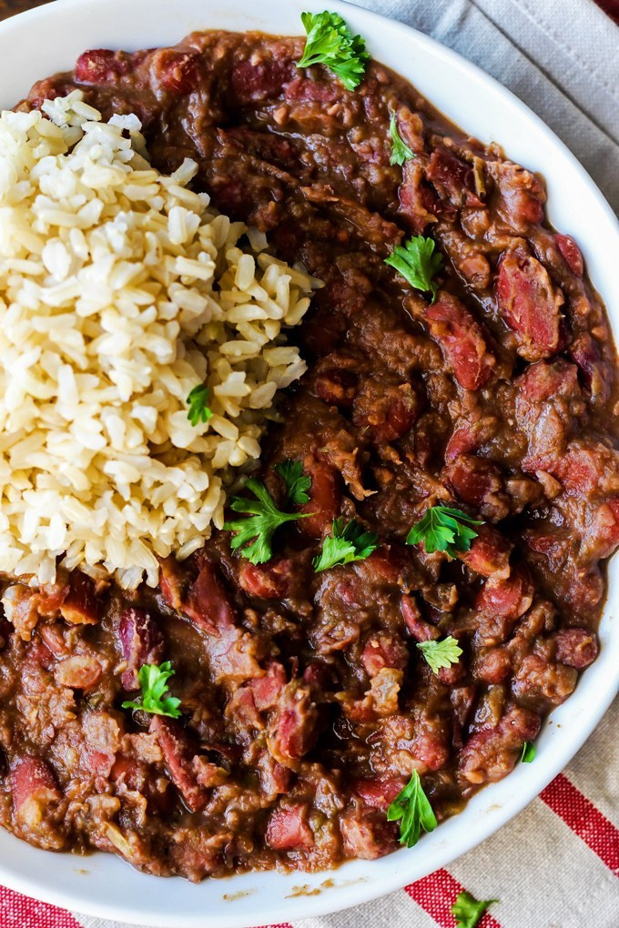 Cajun Red Beans And Rice  Cajun Style Vegan Red Beans and Rice