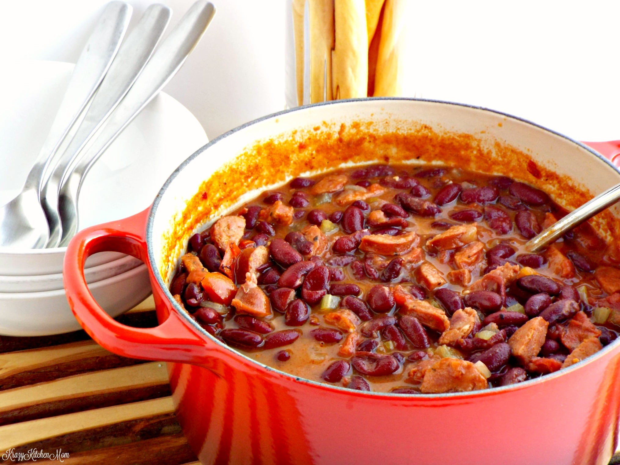 Cajun Red Beans And Rice  cajun red beans and rice
