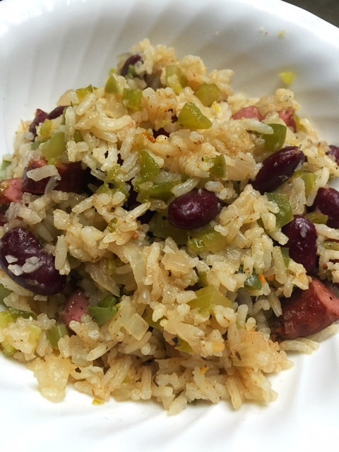 Cajun Red Beans And Rice  Rice Cooker Cajun Red Beans and Rice Pilaf Hangry Fork