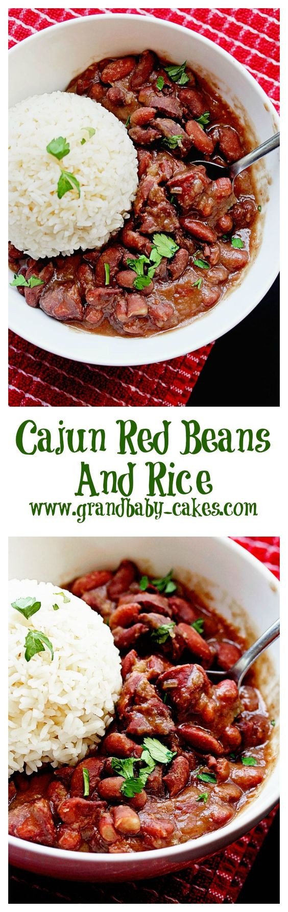Cajun Red Beans And Rice  Cajun Red Beans and Rice Recipe