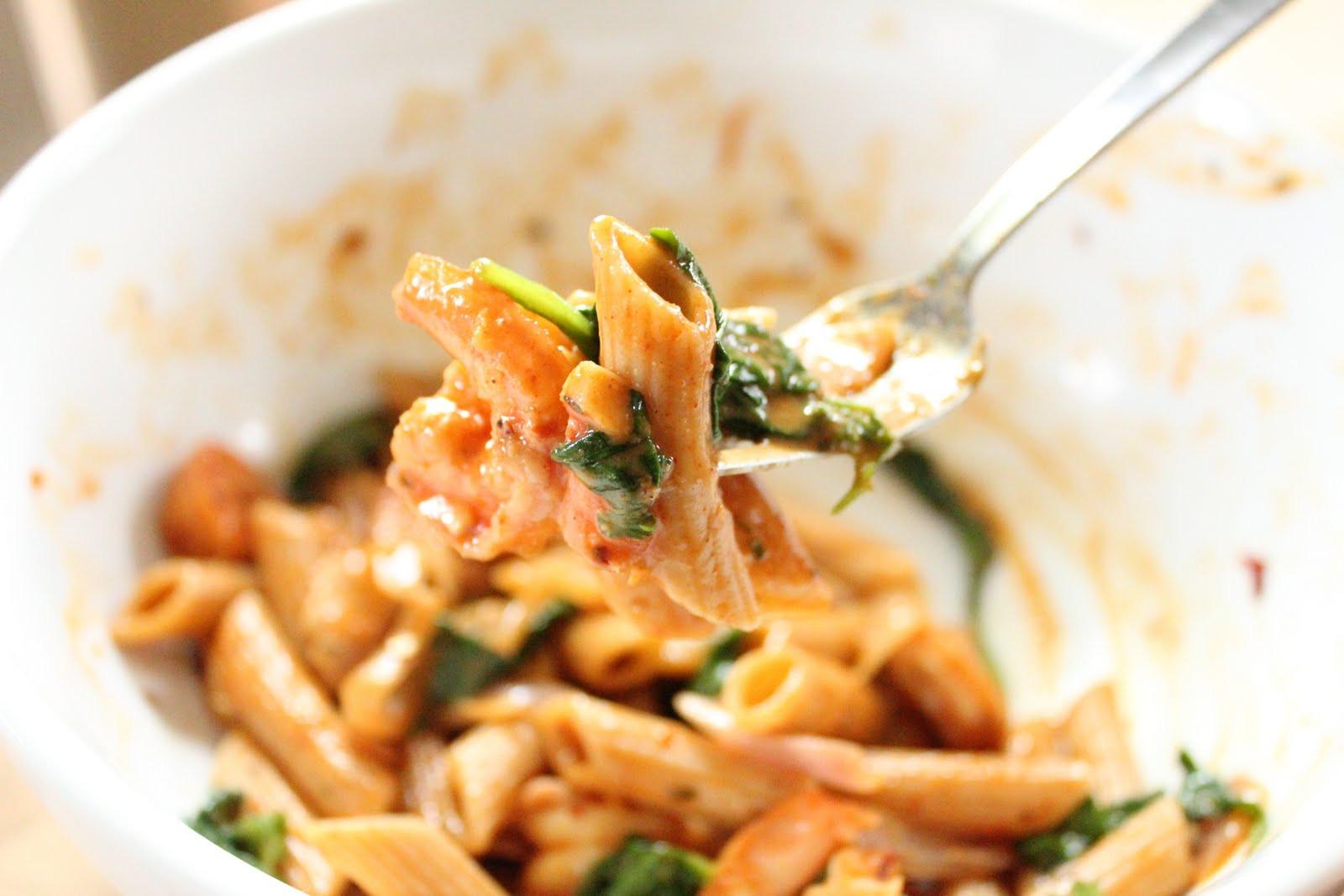 Cajun Shrimp Pasta  Cajun shrimp pasta