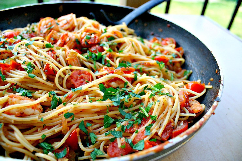 Cajun Shrimp Pasta  Spicy Cajun Shrimp Pasta
