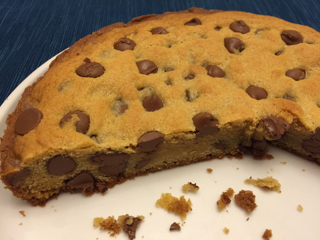 Cake Cookie Recipe  How To Make Chocolate Chip Cookie Cake – Best Recipe Ever