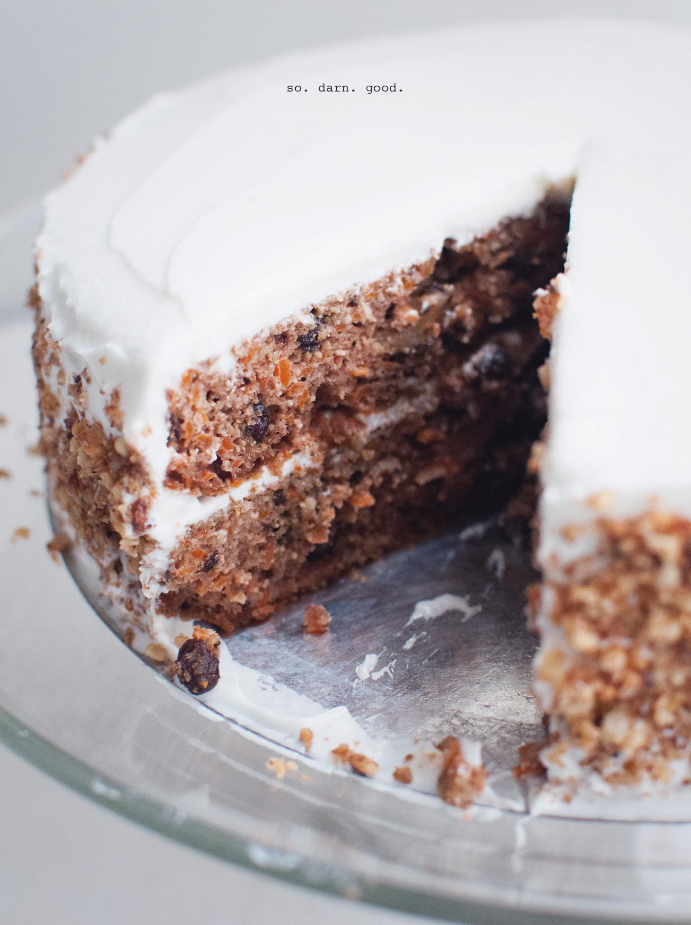 Cake Flour Recipe  Best Carrot Cake Recipe Gluten Free Wake the Wolves