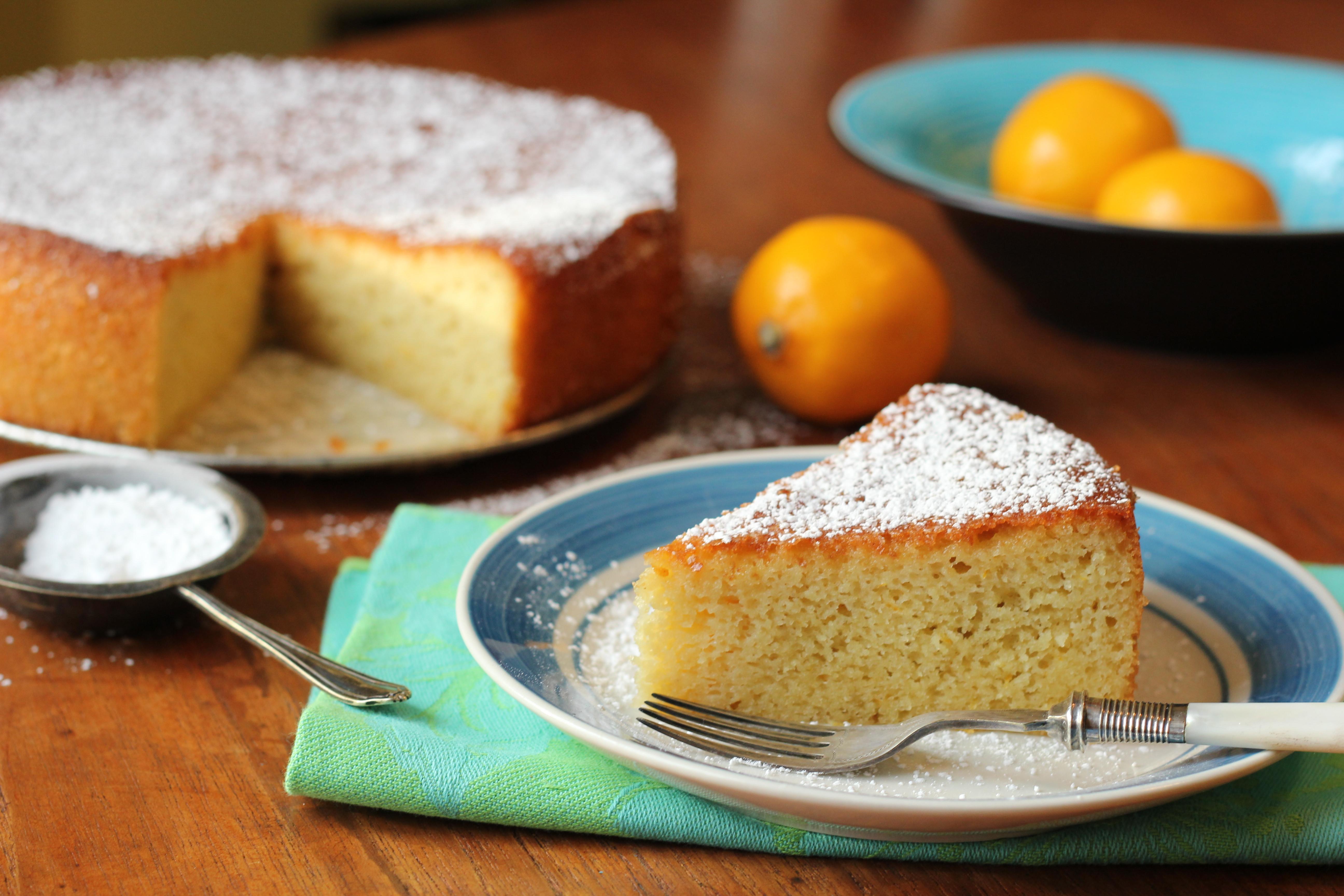 Cake Flour Recipe  Luscious Lemon Almond Flour Cake