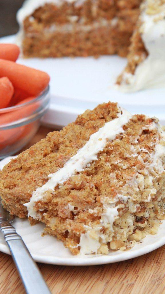Cake Flour Recipe  Moist & Fluffy Gluten Free Carrot Cake Recipe