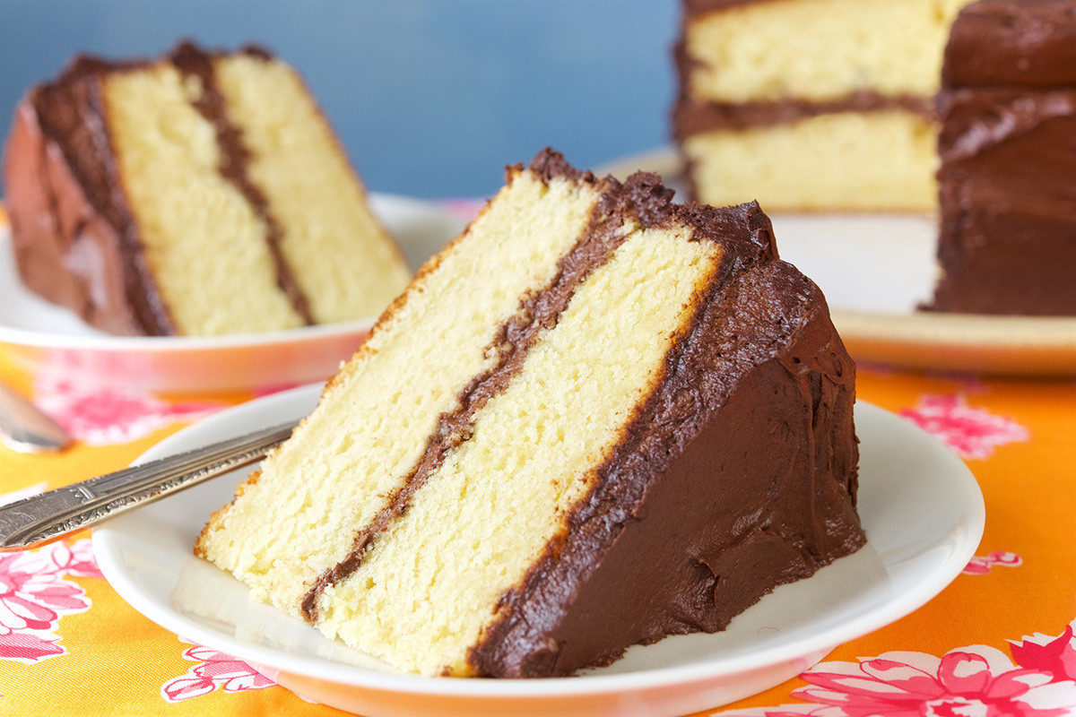 Cake Flour Recipe  Golden Vanilla Cake Redux Flourish King Arthur Flour