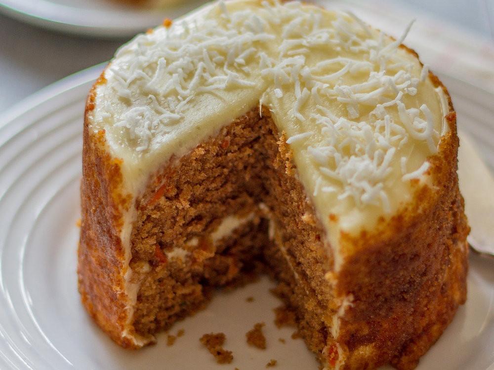 Cake Flour Recipe  Coconut Flour Carrot Cake Recipe Emily Farris