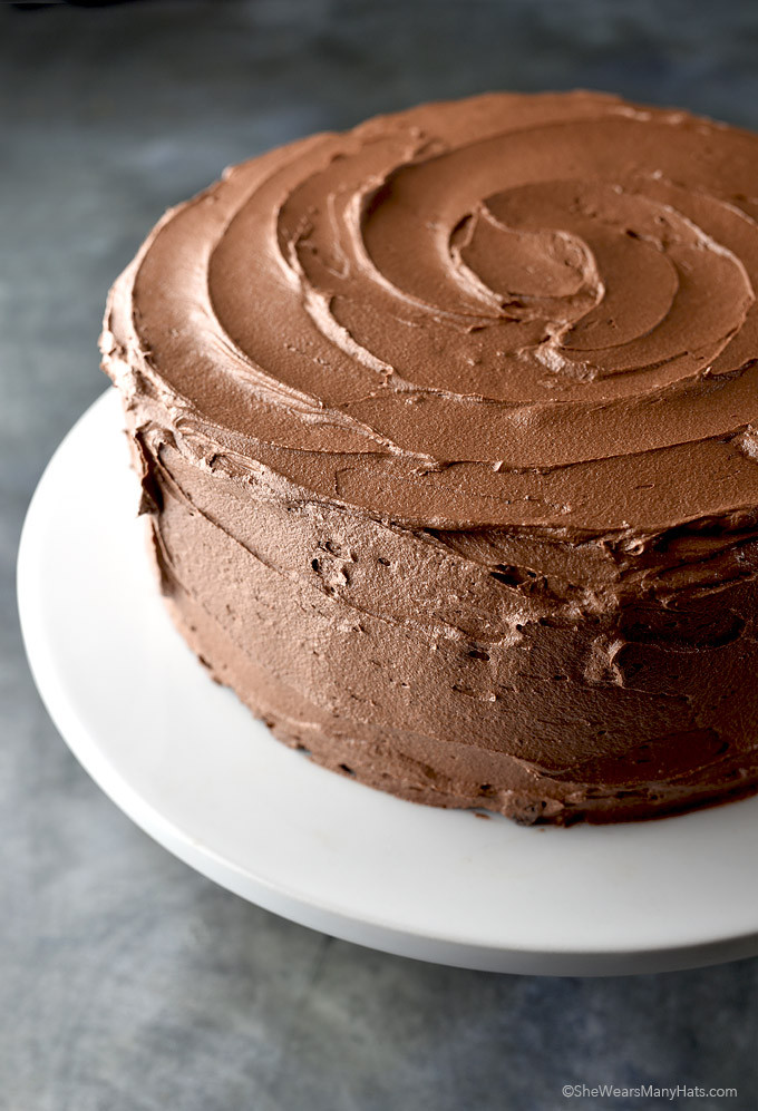 Cake Frosting Recipe  Chocolate Buttercream Frosting Recipe and Tips for the
