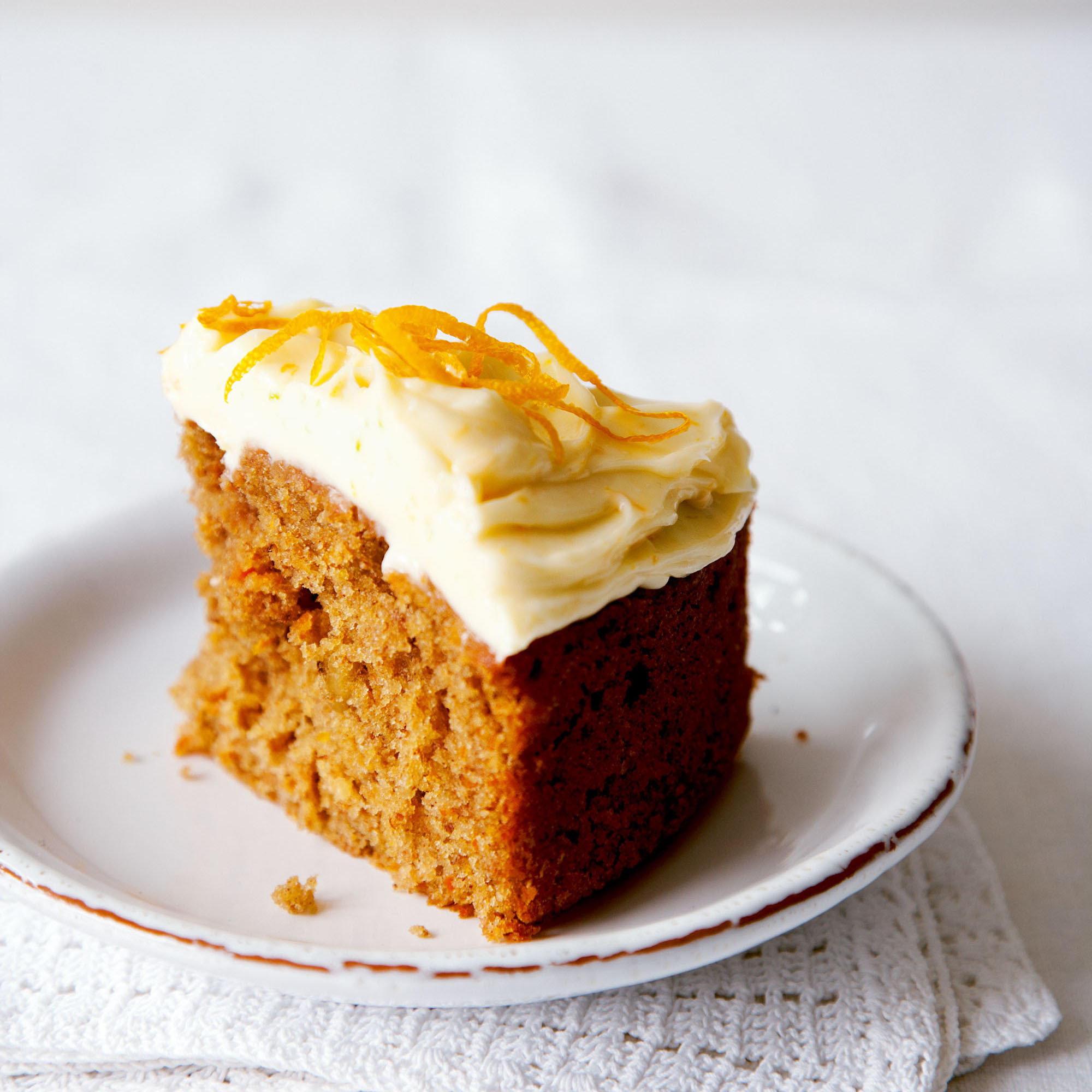 Cake Frosting Recipe  Carrot cake with lemon cream cheese frosting recipe