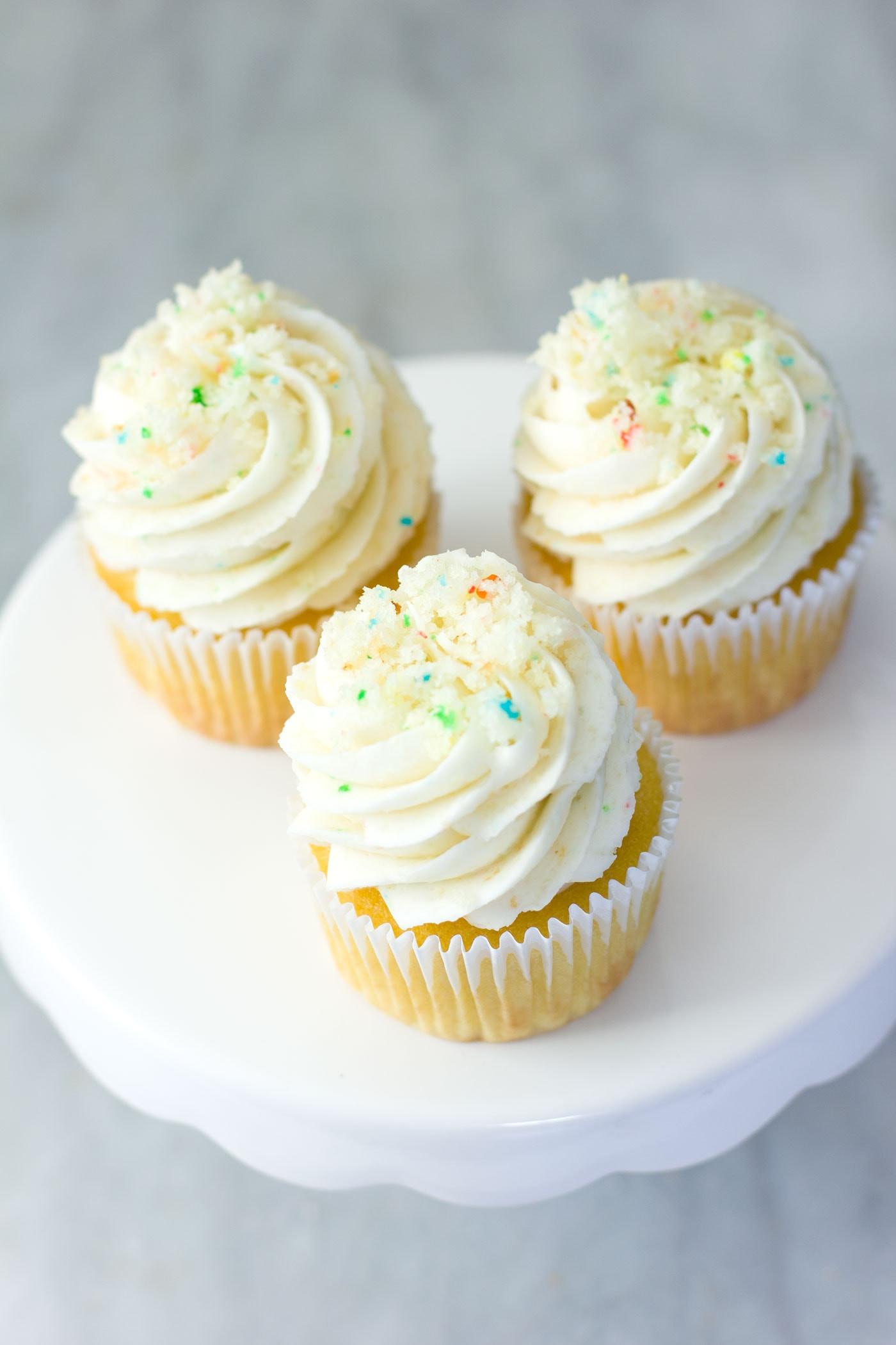 Cake Frosting Recipe  BIRTHDAY CAKE BATTER FROSTING RECIPE