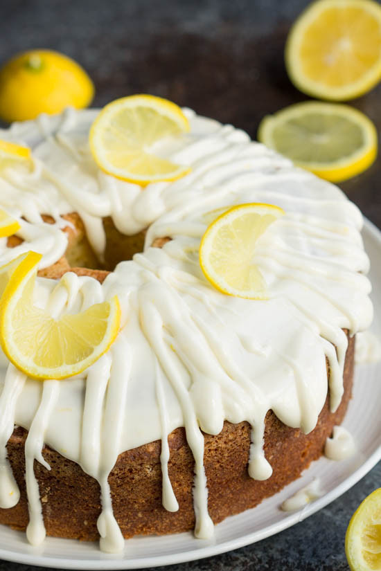 Cake Glaze Recipe  Trisha Yearwoods Lemon Pound Cake with Glaze Call Me PMc