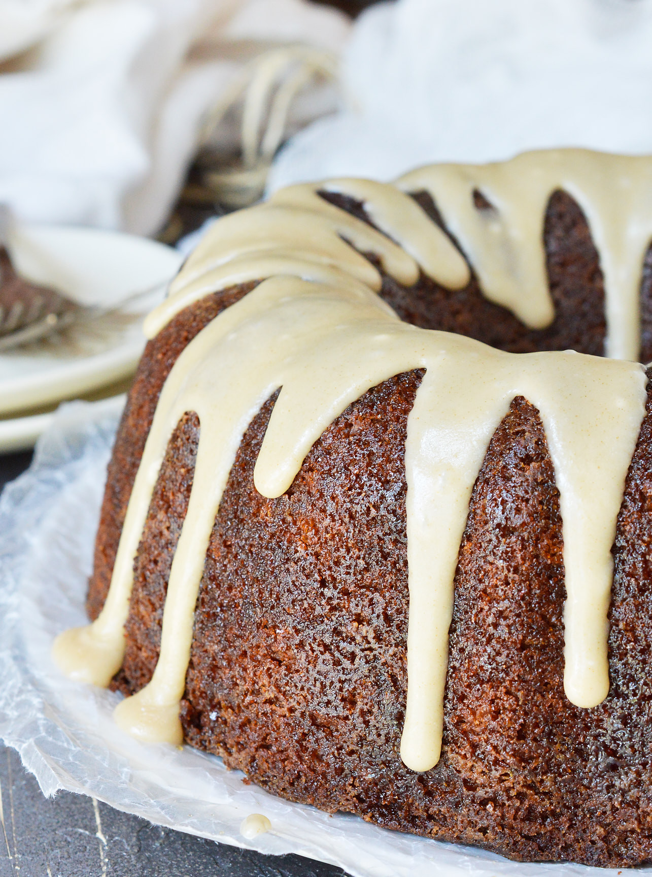 Cake Glaze Recipe  Brown Butter Glazed Bundt Cake Recipe WonkyWonderful