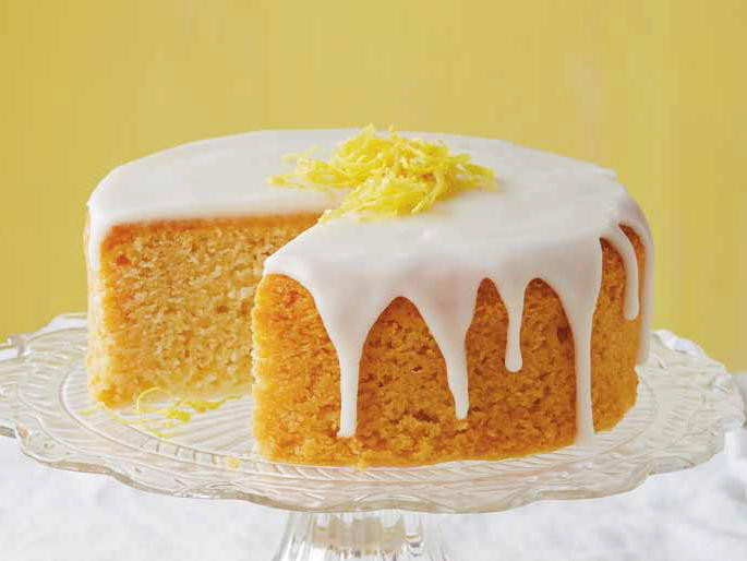 Cake Glaze Recipe  French Lemon Cake with Lemon Glaze