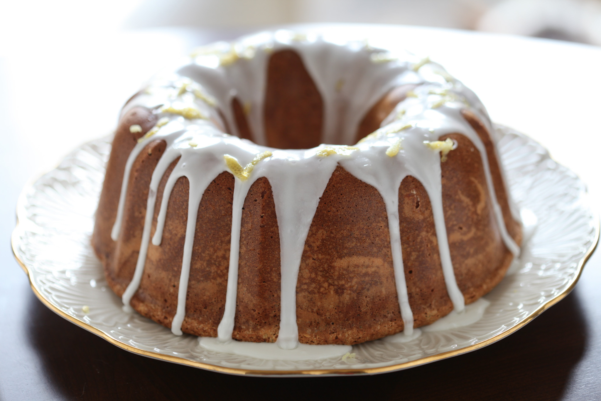 Cake Glaze Recipe  pound cake glaze powdered sugar