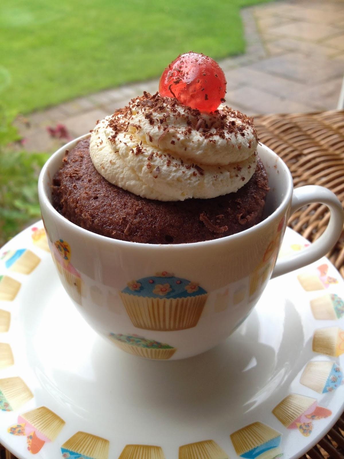 Cake In A Mug Recipe  Cake in a Mug recipe