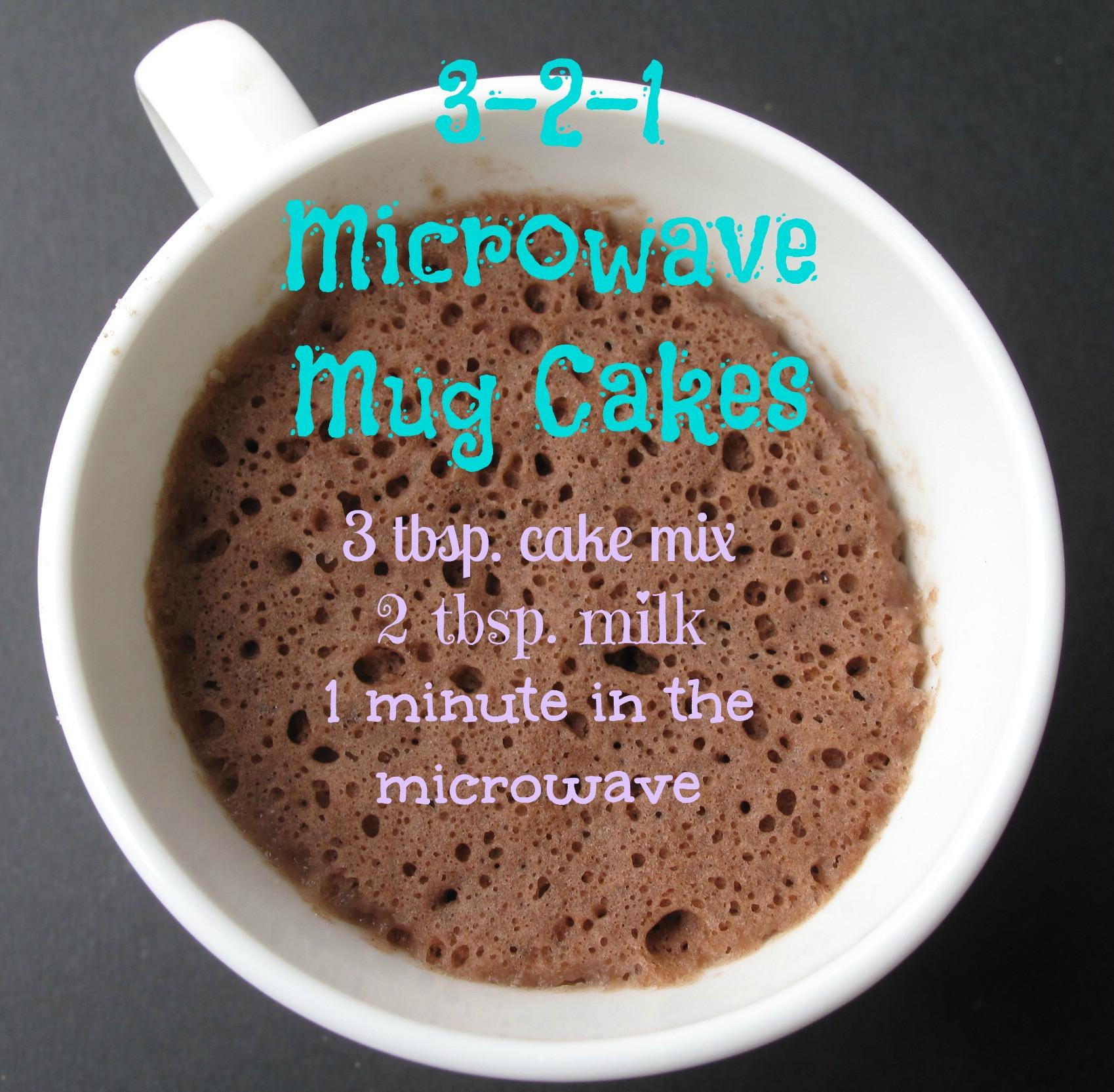 Cake In A Mug Recipe  Cake In A Mug Recipes — Dishmaps
