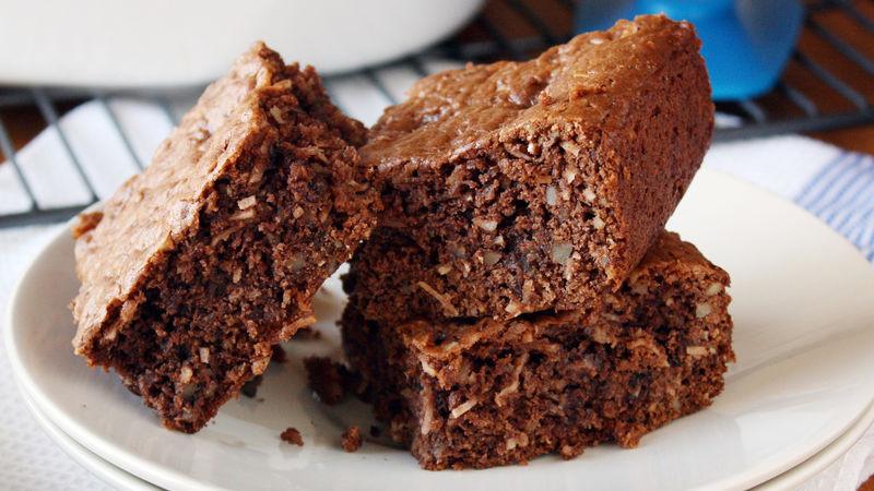 Cake Mix Brownies  Loaded German Chocolate Cake Mix Brownies Recipe