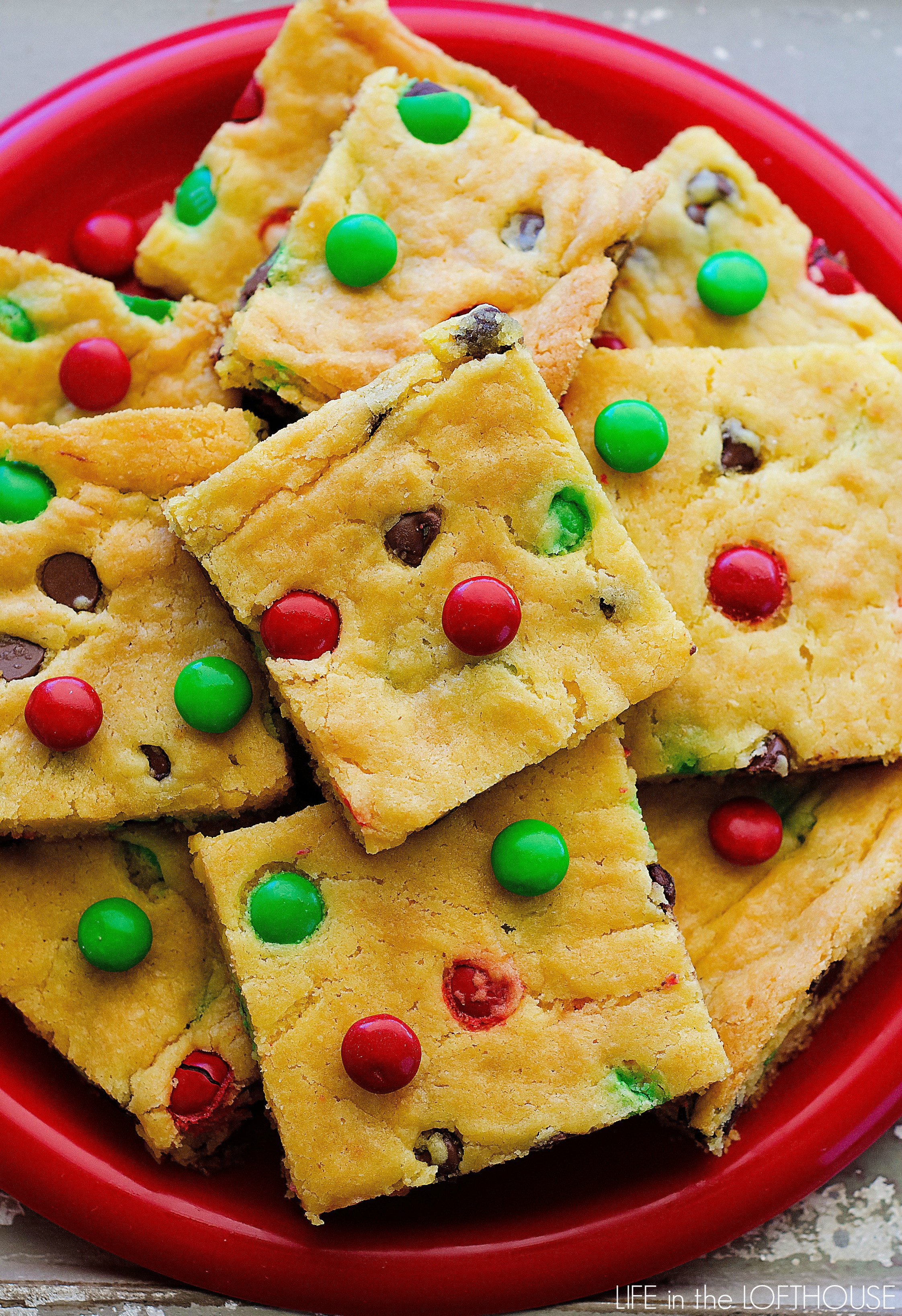 Cake Mix Cookie Recipe  Cake Mix Cookie Bars Life In The Lofthouse