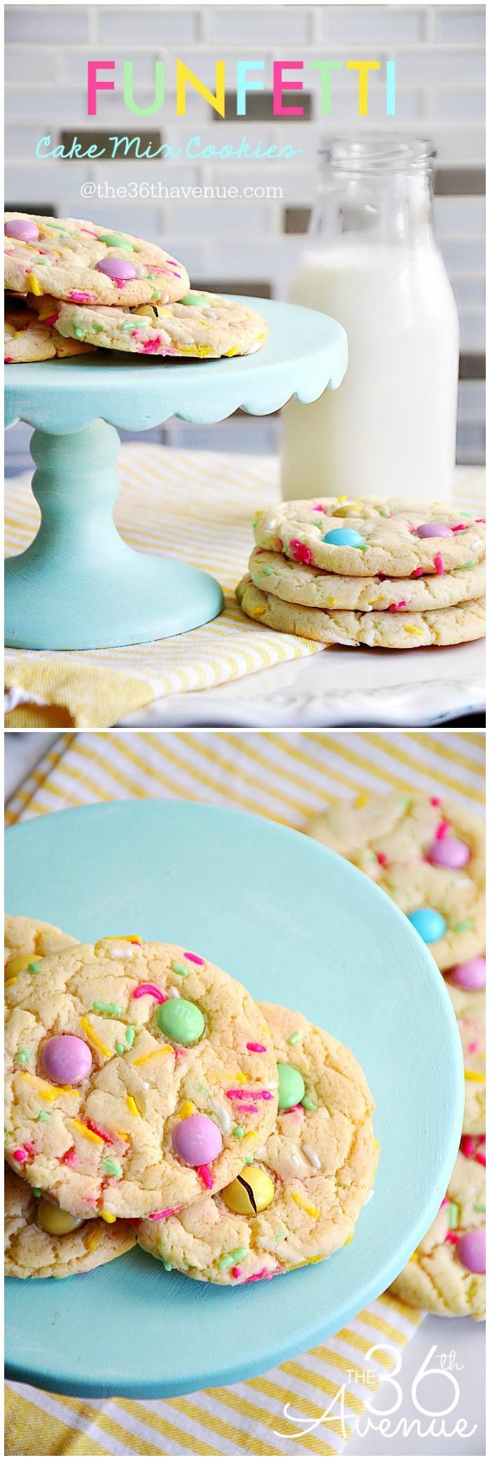 Cake Mix Cookie Recipe  The 36th AVENUE