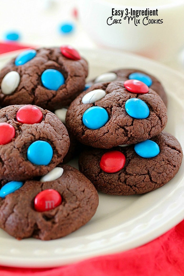 Cake Mix Cookie Recipe  3 Ingre nt Easy Cake Mix Cookies Yummy Healthy Easy