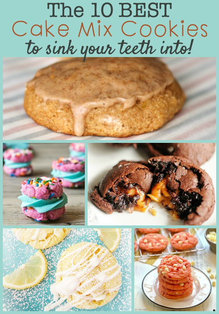 Cake Mix Cookie Recipes  The Best Cake Mix Cookies To Sink Your Teeth Into The