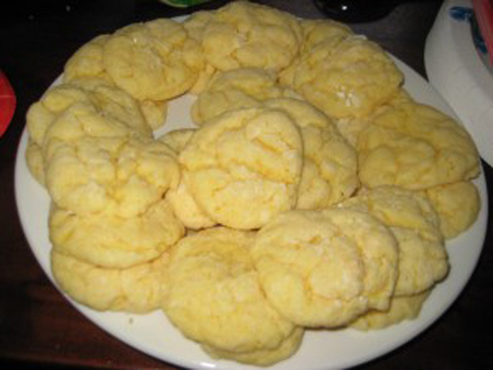 Cake Mix Cookies With Butter  Gooey Butter Cookies
