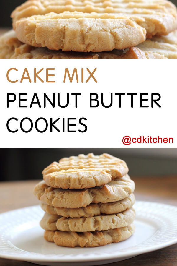 Cake Mix Cookies With Butter  peanut butter cookie recipe cake mix