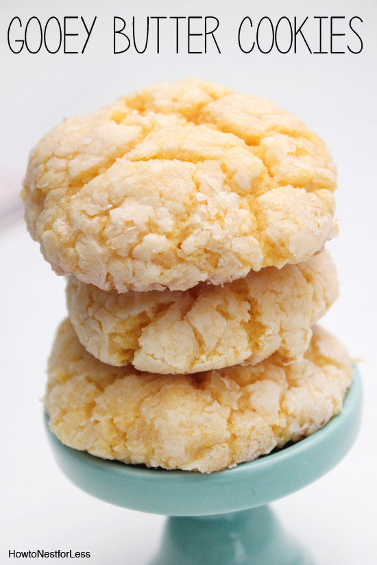 Cake Mix Cookies With Butter  Gooey Butter Cake Cookies s and for