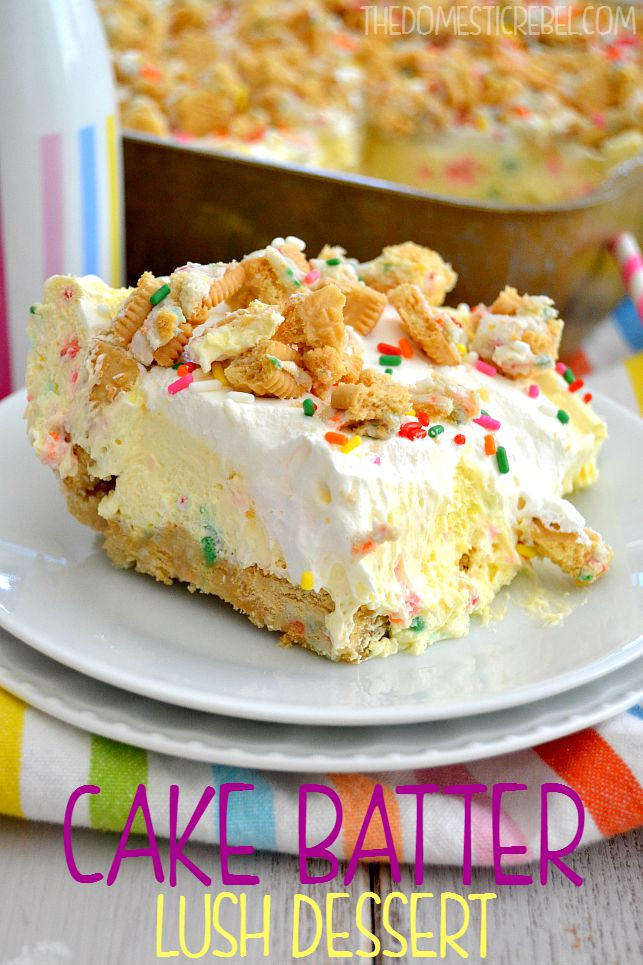 Cake Mix Dessert  Cake Mix Dessert Recipes The Idea Room