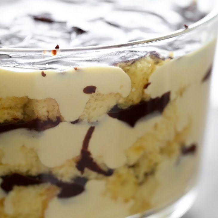 Cake Mix Desserts  Boston Cream Pie Trifle Recipe Desserts with yellow cake