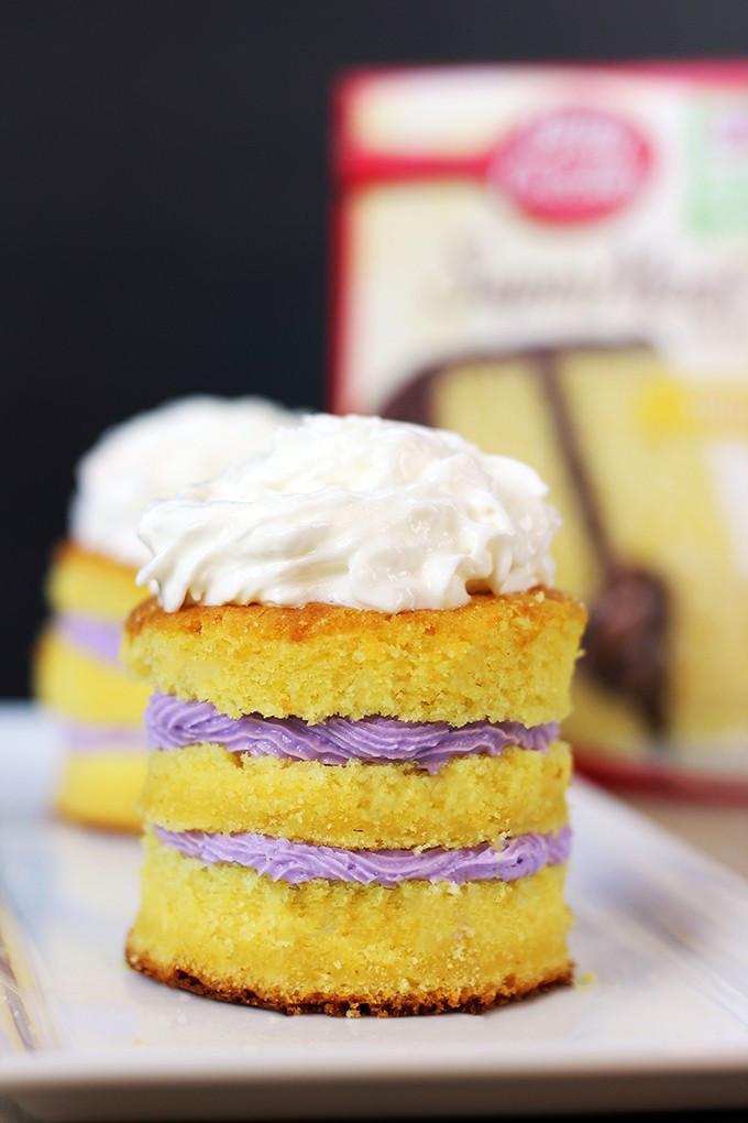 Cake Mix Desserts  Boxed Cake Mix Hack Tastes like you paid $6 a slice