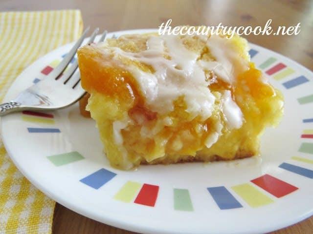 Cake Mix Peach Cobbler  Peach Cobbler Cake The Country Cook