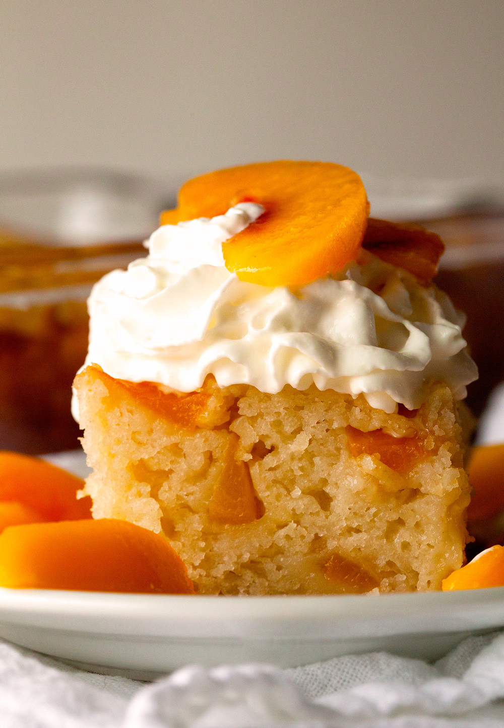 Cake Mix Peach Cobbler  Peach Cobbler Snack Cake