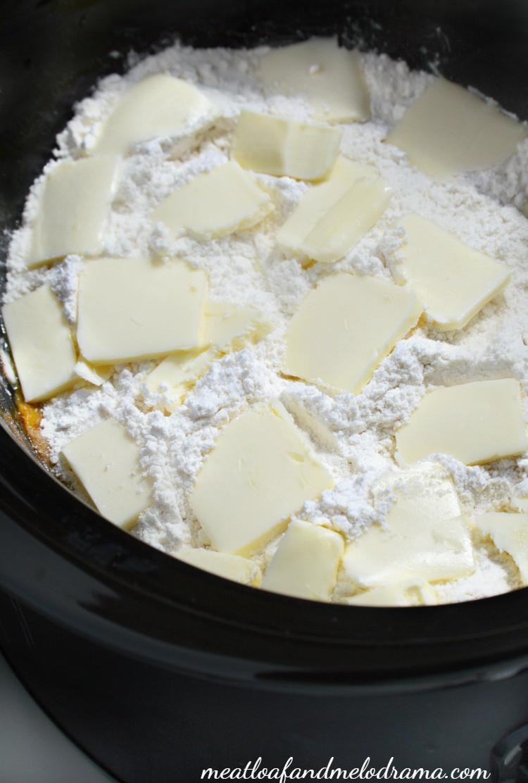 Cake Mix Peach Cobbler  Crock Pot Peach Cobbler Meatloaf and Melodrama