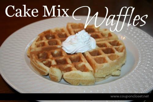 Cake Mix Waffles  Cake Mix Waffles Coupon Closet