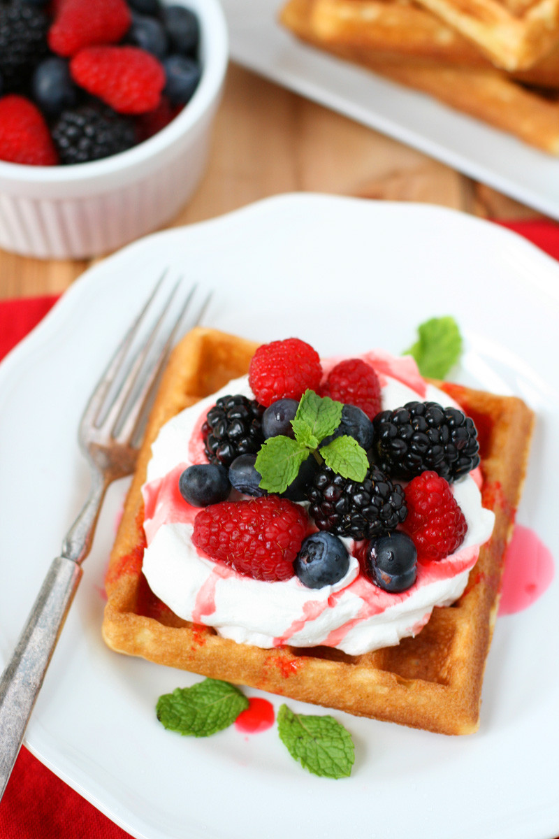 Cake Mix Waffles  Cake Mix Waffles Plus Party Planning Tips Mom Loves