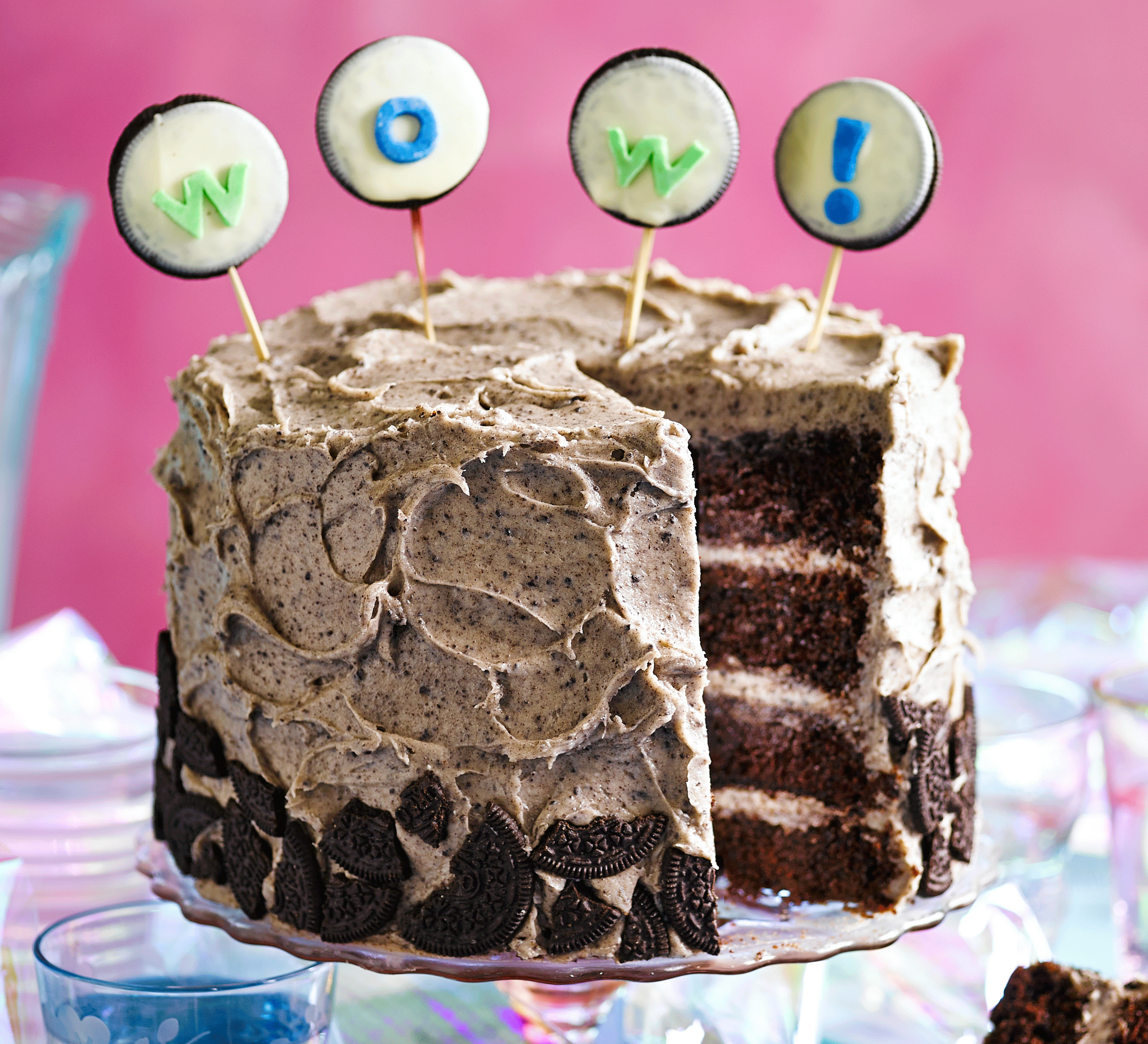 Cake Recipe Ideas  Cookies & cream party cake