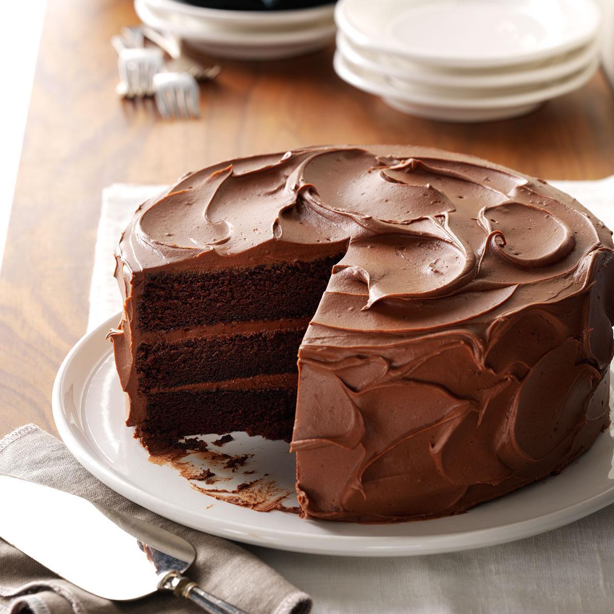 Cake Recipe Ideas  Sandy s Chocolate Cake Recipe