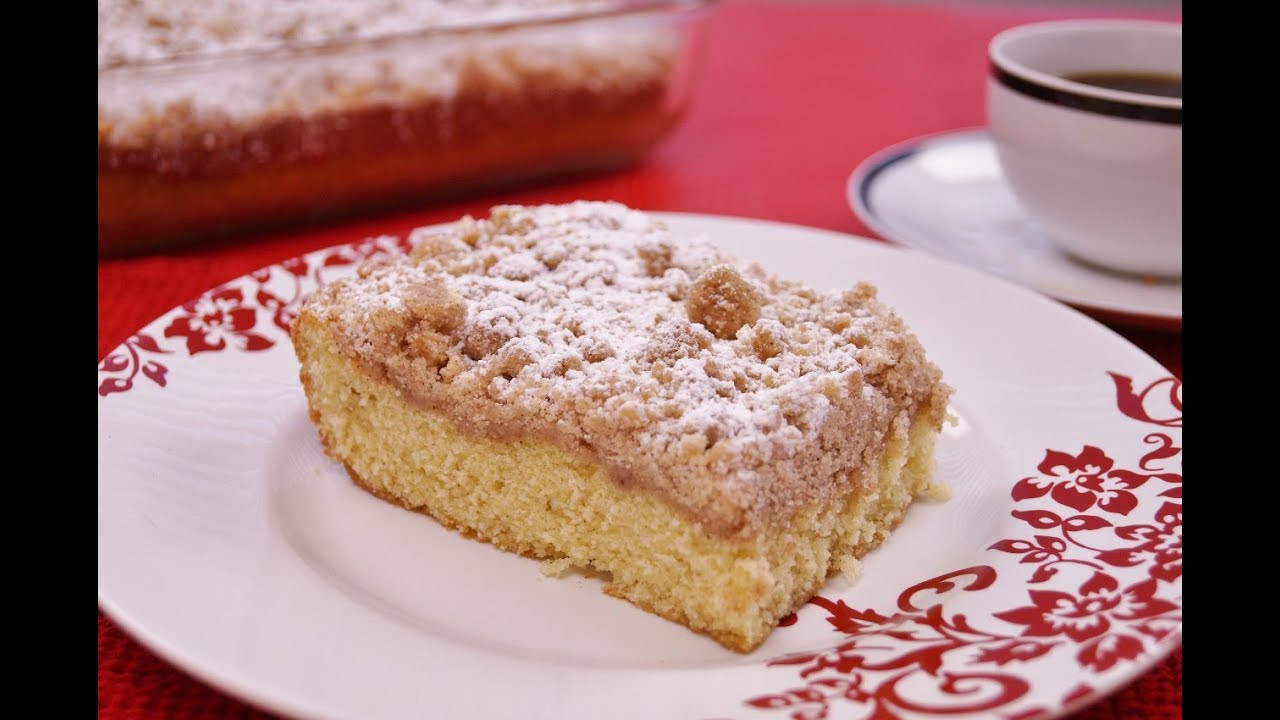 Cake Recipes From Scratch  old fashioned crumb cake recipe scratch