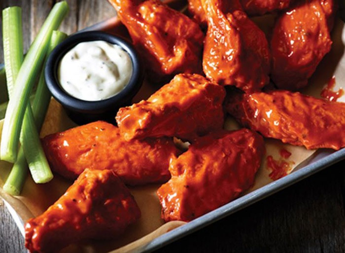 Calories Chicken Wings  5 bbq chicken wings calories