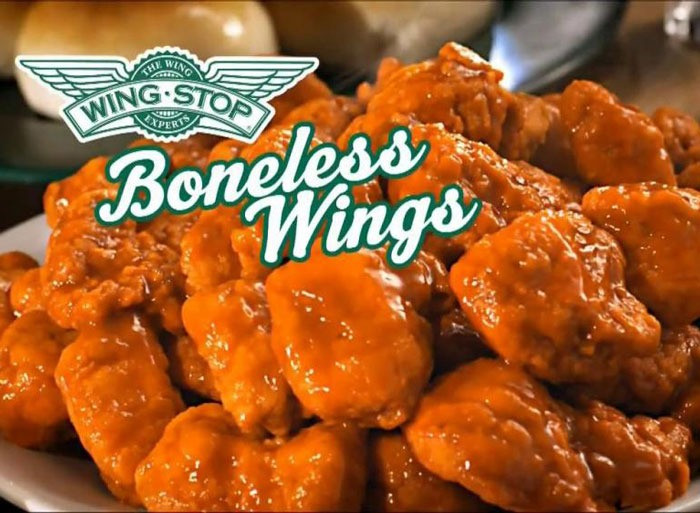 Calories Chicken Wings  how many calories in boneless wings