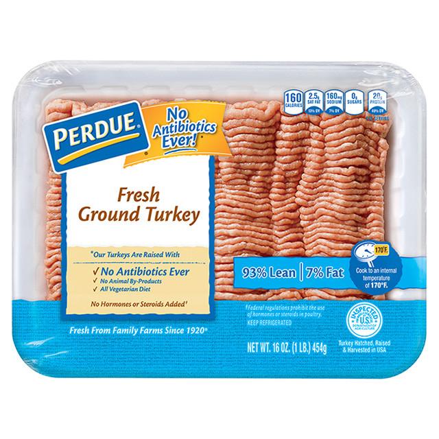Calories Ground Turkey  Perdue 93 7 Ground Turkey Nutrition Nutrition Ftempo